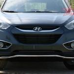 "Защита переднего бампера d42 ""волна""(Hyundai ix35 2010-) ЦЕНА: 69700 тенге"