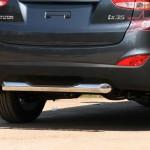 "Защита задняя d76 ""ступенька""(Hyundai ix35 2010-) ЦЕНА: 72000 тенге"